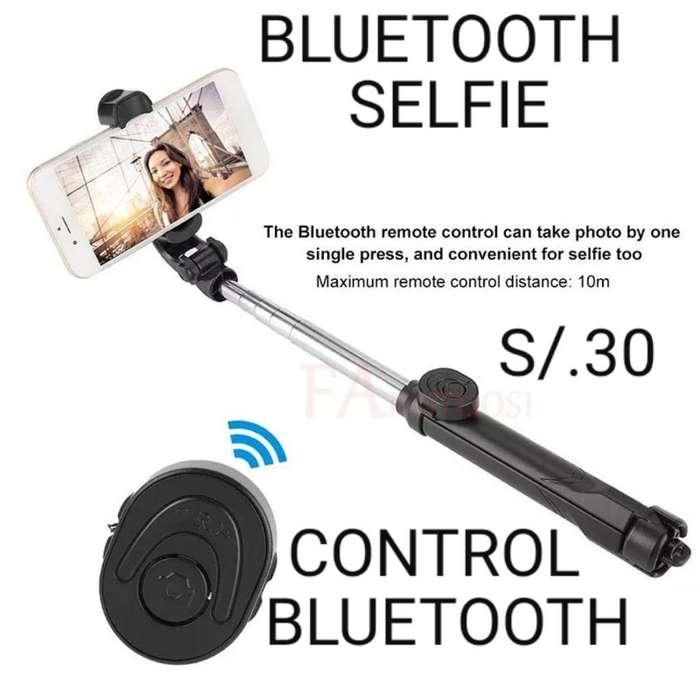 Bluetooth Tripode Selfie Celulares