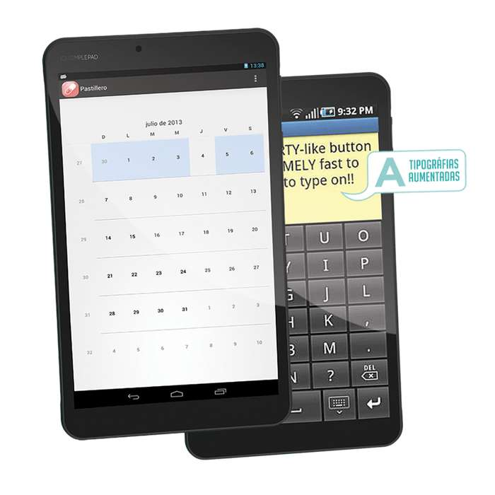 Tablet XView Simple PAD 8 (Cod.1710)