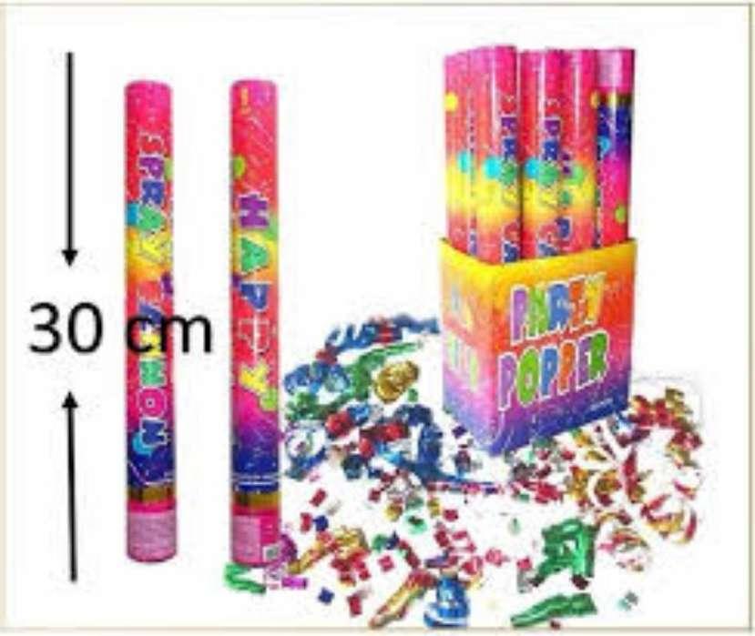 Lanza Confeti Cañon Fiesta 30 Cm