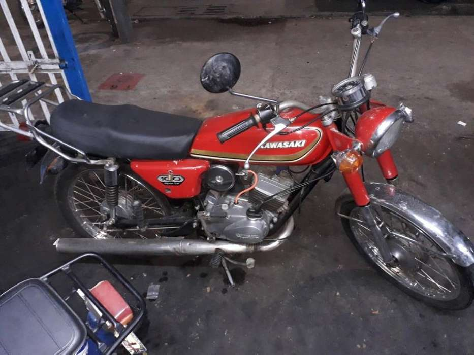 <strong>kawasaki</strong> 100 Sport Modelo 1976