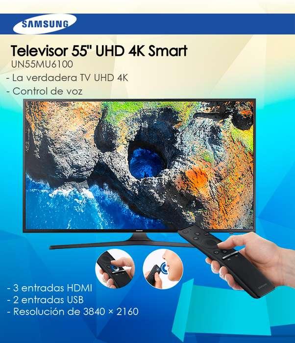 <strong>televisor</strong> Samsung 55 UHD 4K Smart