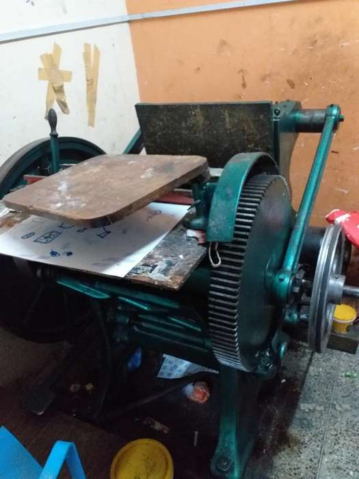 Vendo Maquina Trokeladora Chander