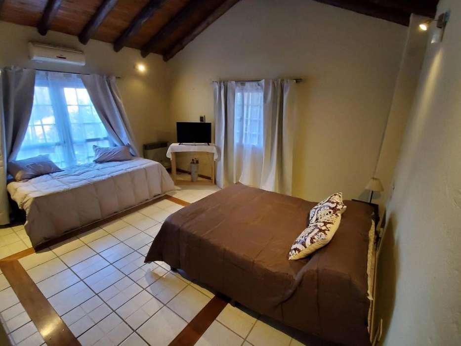 pq32 - Casa para 1 a 10 personas con pileta y cochera en Chacras de Coria