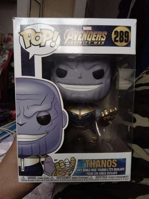 Funko Pop de Thanos (ORIGINAL)