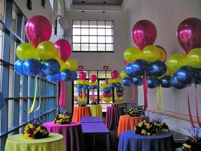 decoraciones, globos, cumpleaños, eventos