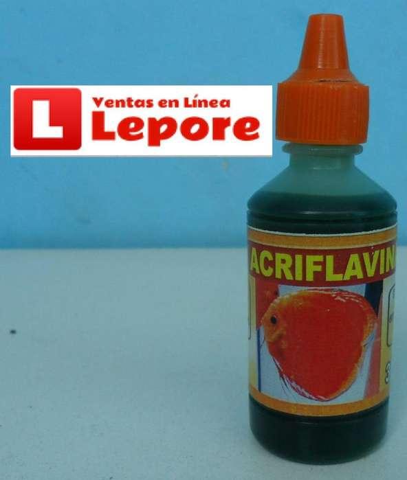 Medicamento Acriflavina Peces Acuario Pecera x1