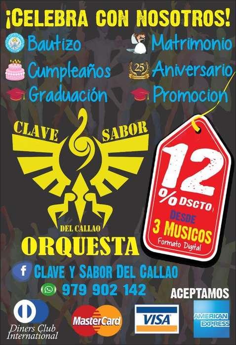 Orquesta Clave Y Sabor Del Callao