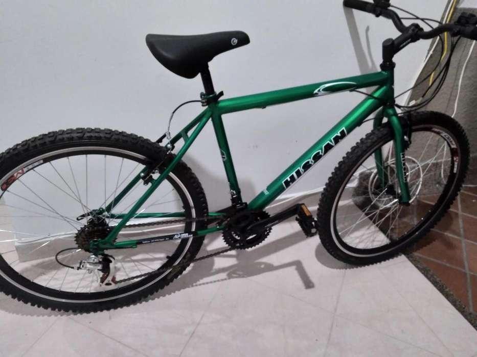 oferta vendo bicicleta todo terreno nueva cambios shimano