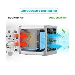 Ventilador Aire Enfriador Personal Portatil Cool Artic Air ORIGINALES!!!