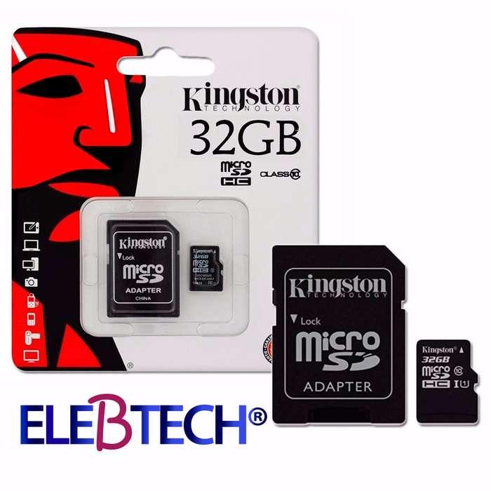 MEMORIA MICRO SD 32GB KINGSTON/CLASS 10 CON GARANTÍA