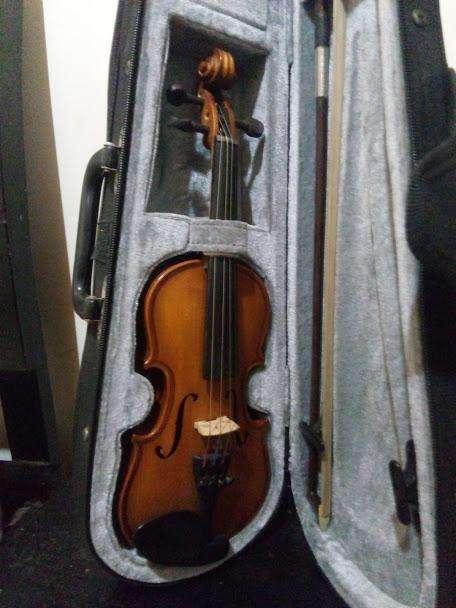 violin greco para niño en madera de arce