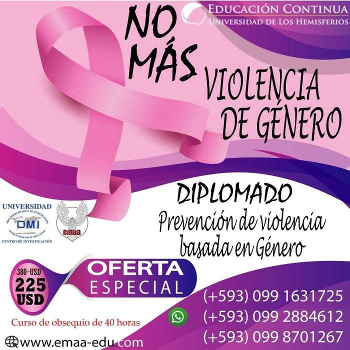 <strong>diplomado</strong> PREVENCIÓN DE VIOLENCIA BASADA EN GÉNERO