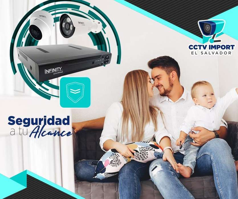 CAMARAS DE SEGURIDAD VIGILANCIA FULL HD 2 MP