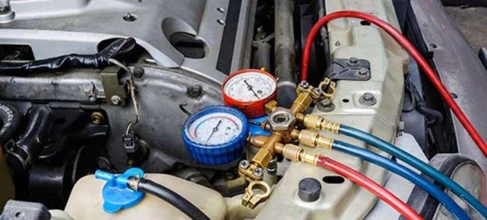 Carga de Gas Refrigerante Automotor