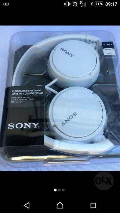 Vendo Auricular Sony