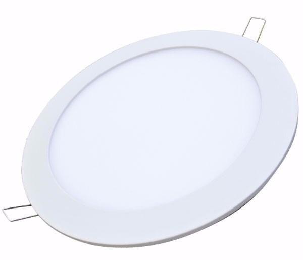 PANEL LED  REDONDO  INCRUSTAR  12 W
