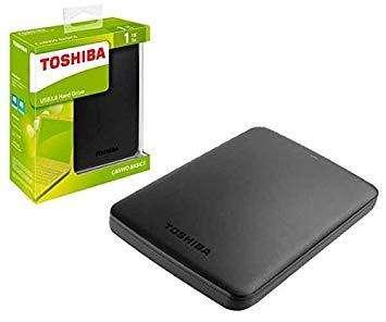 Disco Duro externo Toshiba 1 Tera-1000Gb USB 3.0
