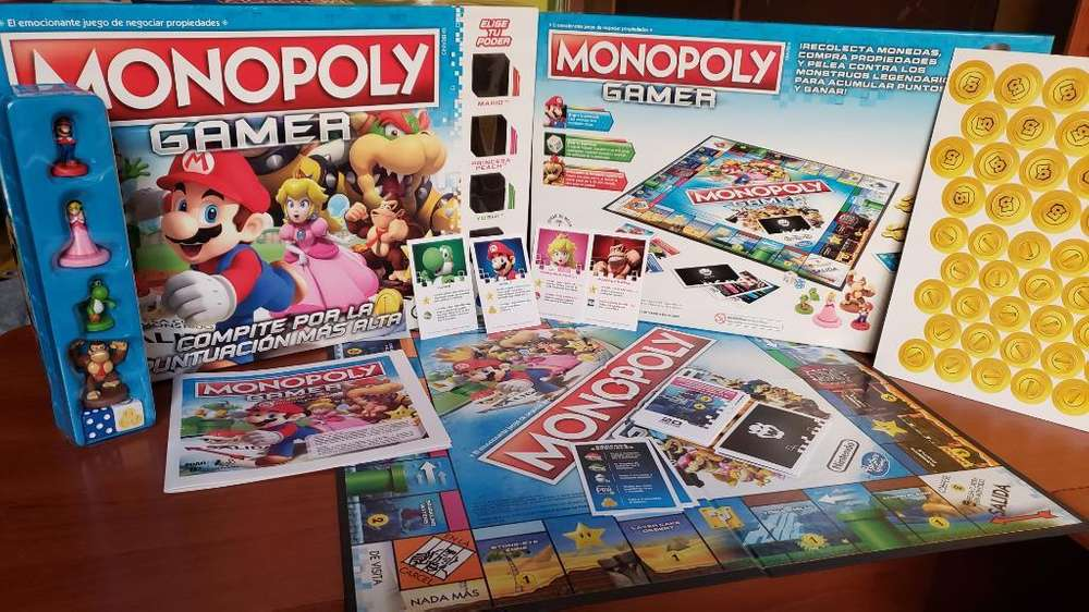 Monopoly Gamer Monopolio Mario Bros Orig