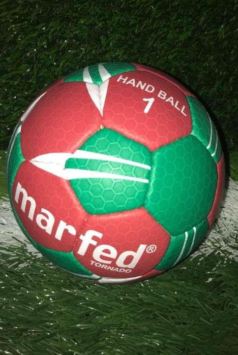 Handball Nro 1 Marfed Con grip Cuero PU