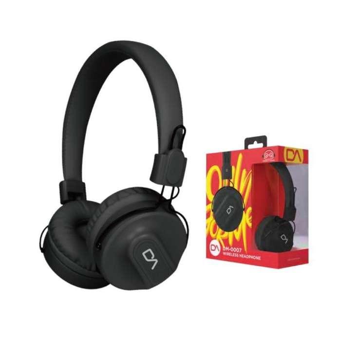 Audifono Headset Bluetooth Marvo Da Dm0007bk Sonido Hifi