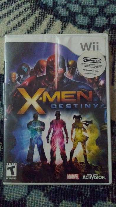 Video Juego Original Wii Xmen Destiny