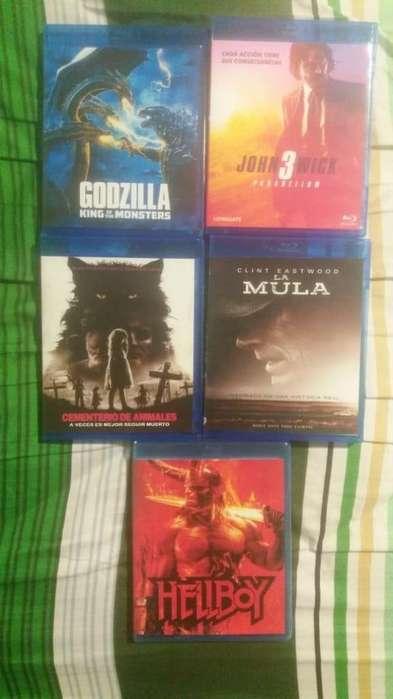 John Wick 3 / Godzilla 2 en Bluray