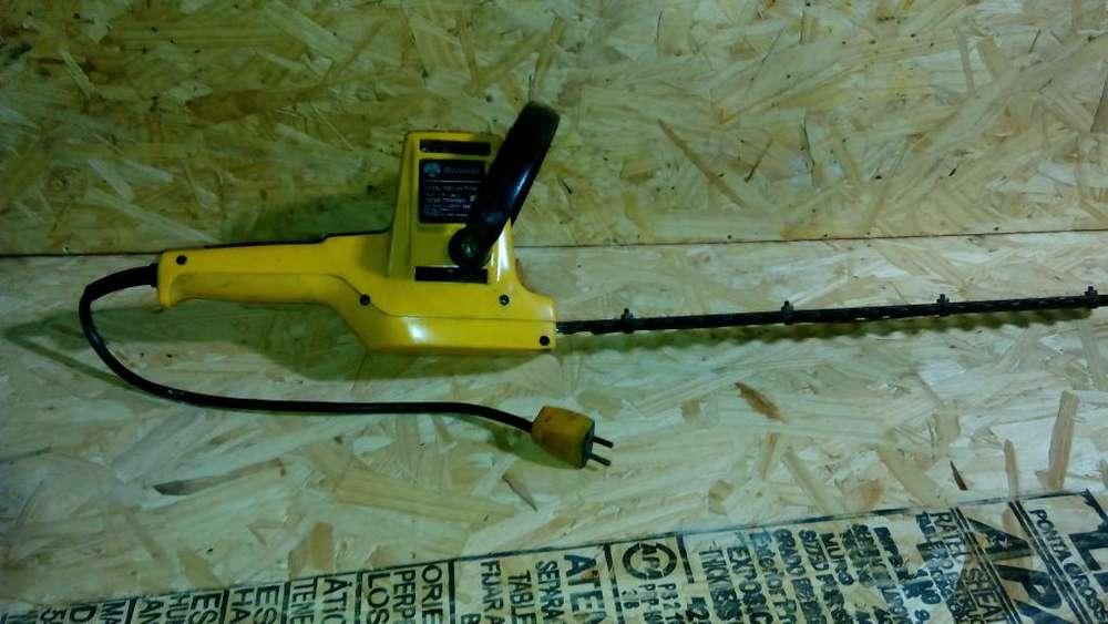 podadora de cerco electrica