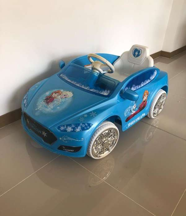Carro de Bateria de Frozen