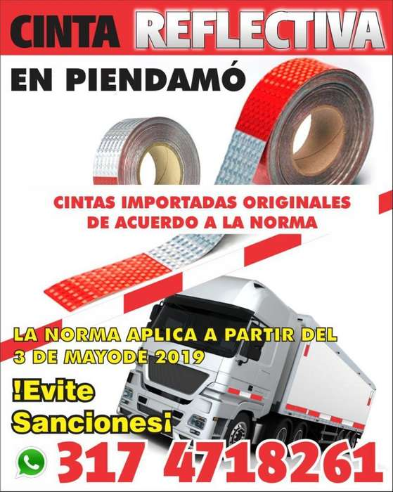 Cintas Reflectiva para Vehículos en el Cauca Y Valle Evite multas 4 SEP