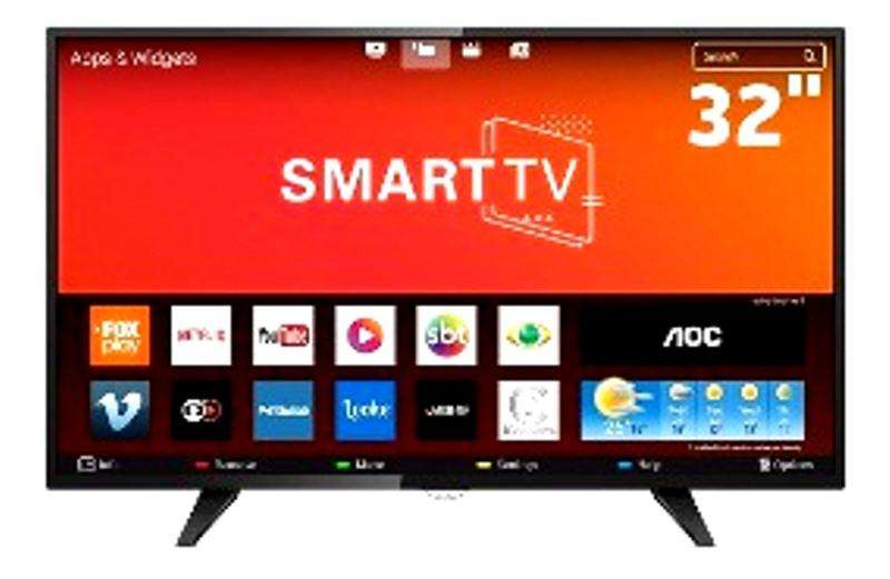 REMATE: SMART TV DE 32' AOC