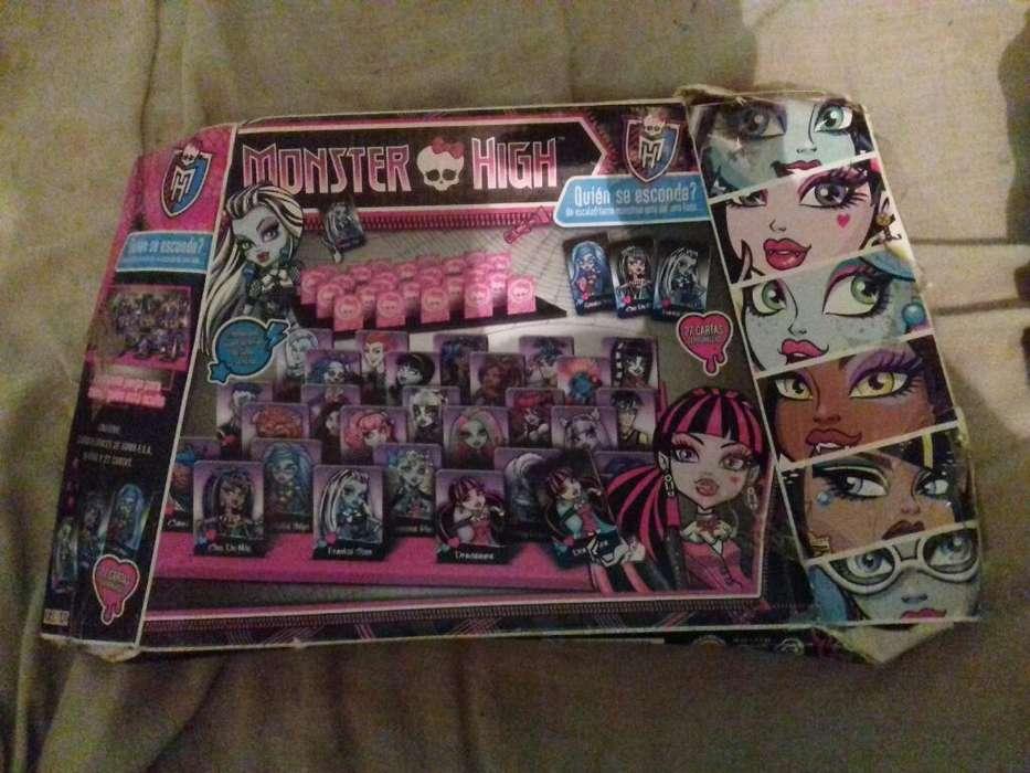 Juego de Monster High