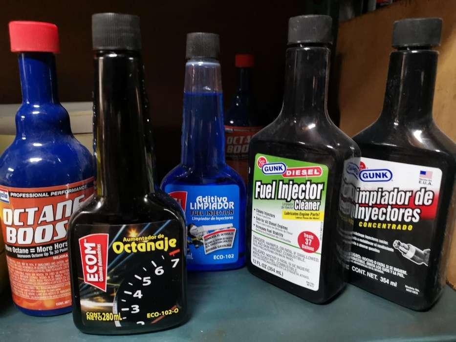 Aditivos Combustible, Aceite