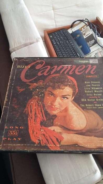 3 Discos Opera Carmen Originales