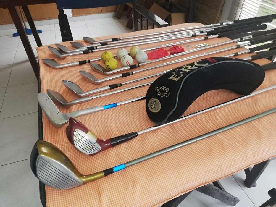 Vendo Juego Palos Golf