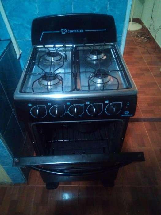 Estufa a gaz con horno casi nueva