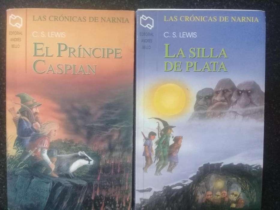 Saga Libros Narnia cada uno a 220