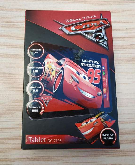 Tablet Disney Cars 3 7