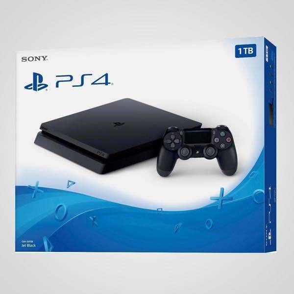 PS4 Slim Nueva Sellada 500GB 1 Joystick Auriculares