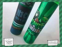 Burbujeros Plantas Vs Zombies Cumpleaños Personalizado Souvenir Evento Fiesta Infantil