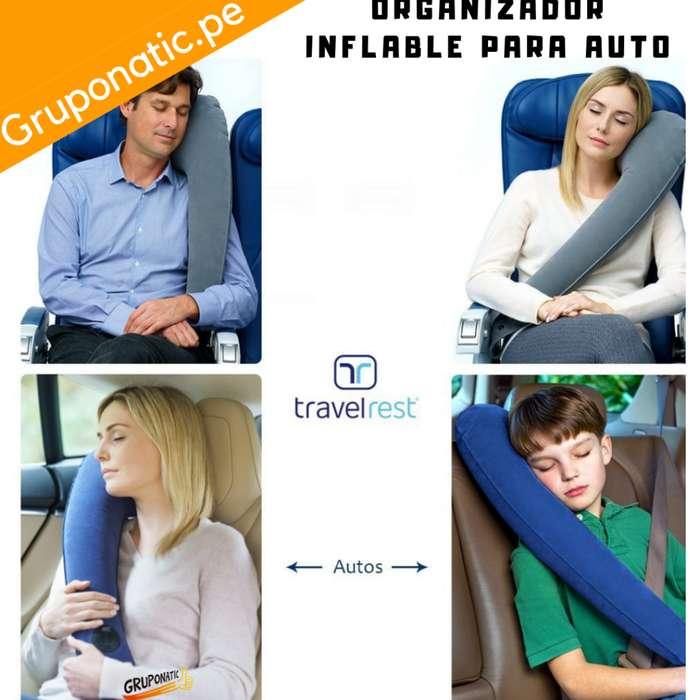 Almohada Inflable Para Viajar Auto Avion Gruponatic San Miguel Surquillo Independencia La Molina Whatsapp 941439370