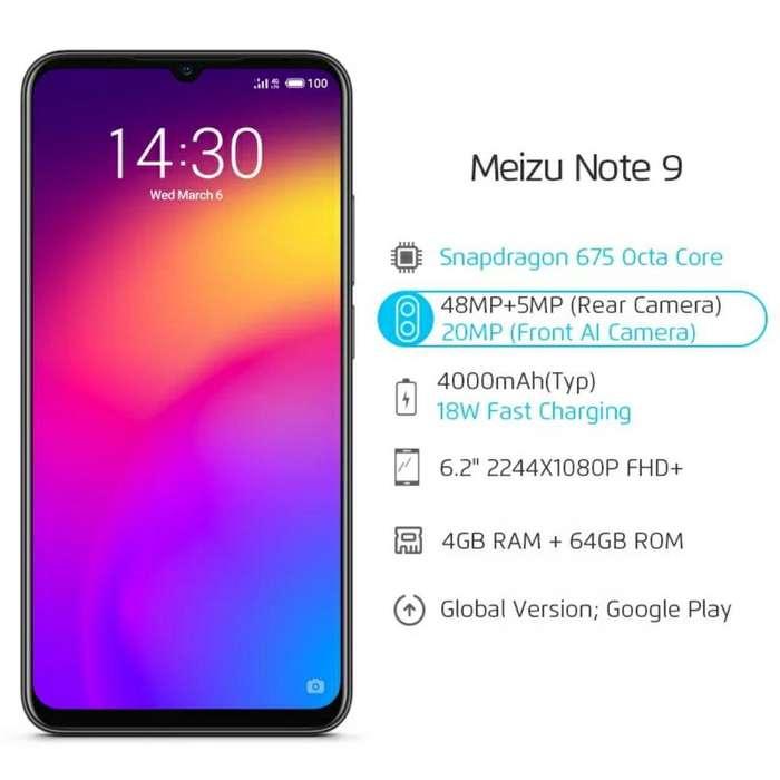 Meizu Note 9 4 Y 64 Gb