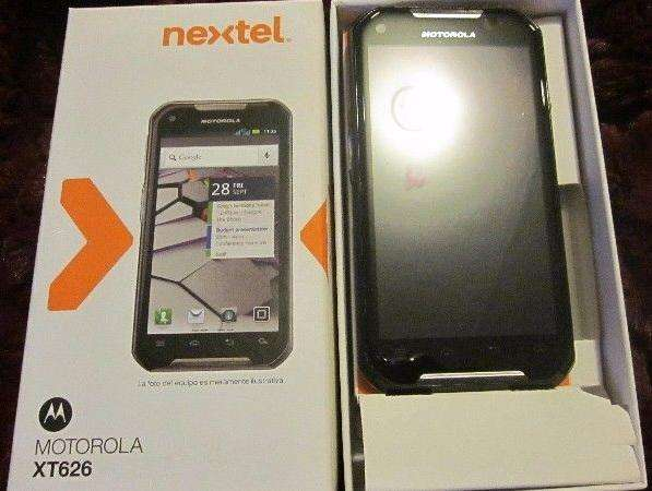 celular <strong>nextel</strong> iron rock xt626 dual sim 3g libre ultima version 4.04