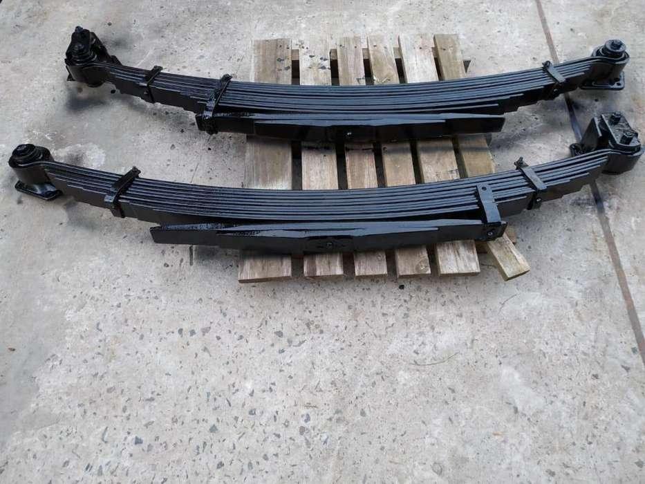 elasticos mercedes benz 608