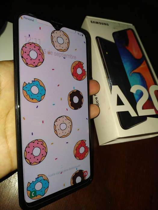 Samsung A20 Impecable Completo