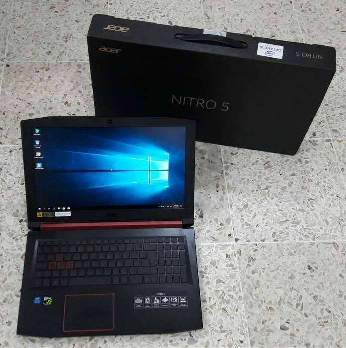 Acer Nitro Gamers I5 con Video 1050