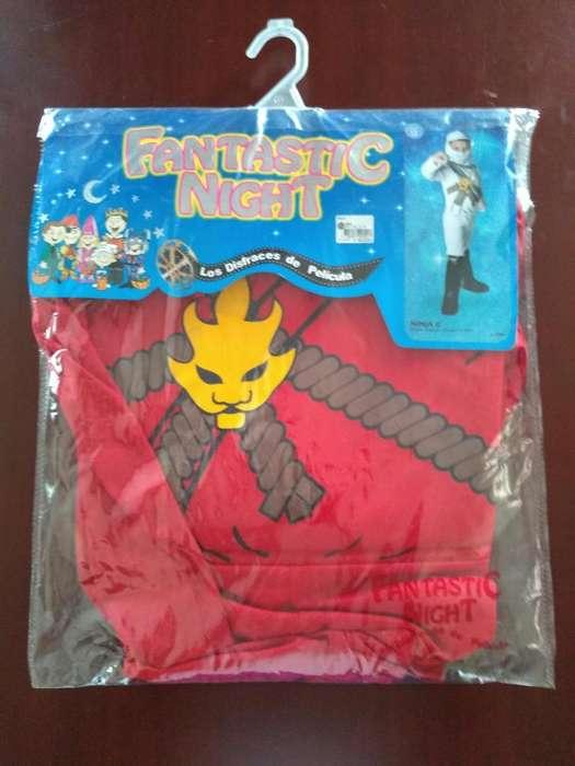 Disfraz Ninja talla 12