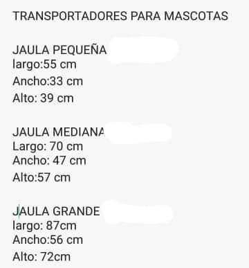 VENTA DE JAULAS PORTATILES PARA MASCOTAS