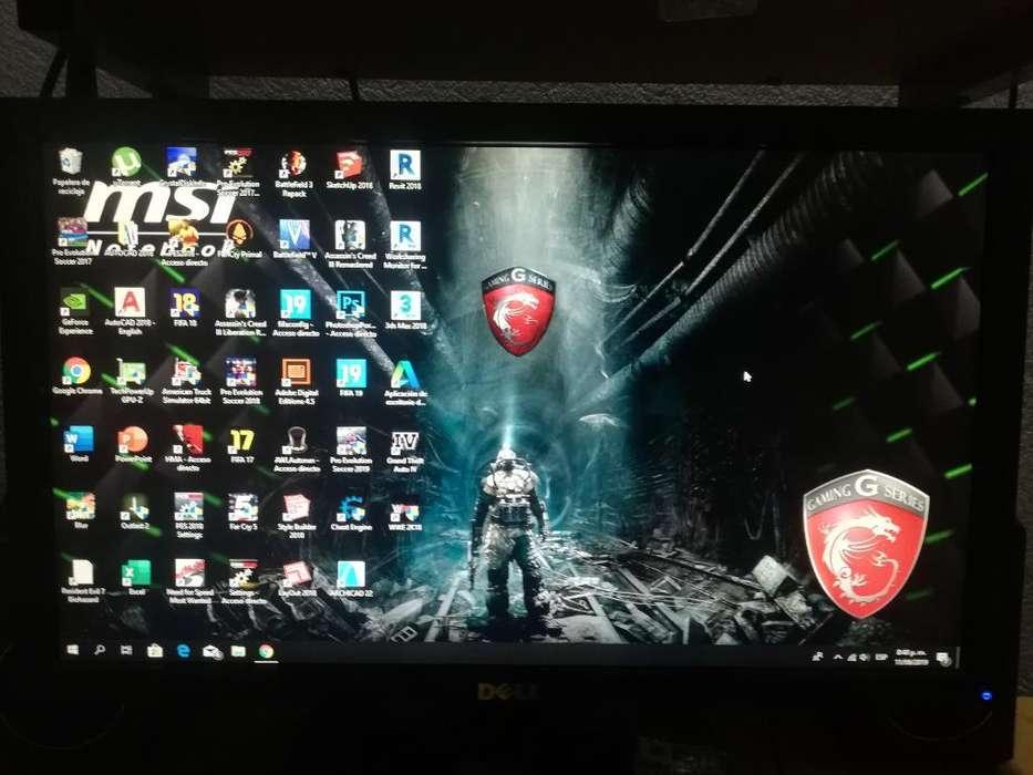 Monitor Dell 19 Pulgadas Dvi Led