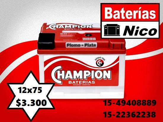 BATERÍA CHAMPION 12X75 (OFERTAZO)