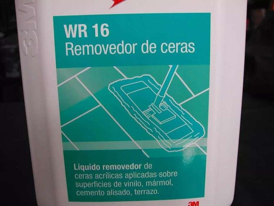 Wr16 3m Removedor Ceras Bidon 5 Lts